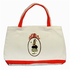 Female Eye Classic Tote Bag (Red)