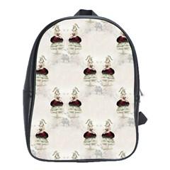Female Eye School Bag (XL)