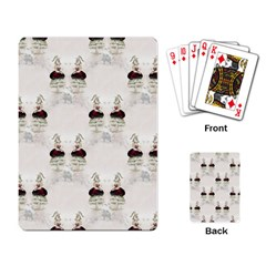 Female Eye Playing Cards Single Design