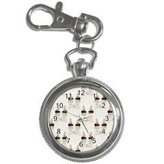 Female Eye Key Chain & Watch