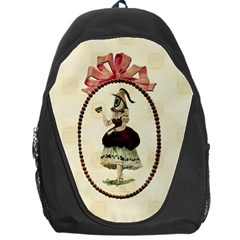 Female Eye Backpack Bag