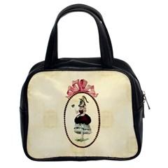 Female Eye Classic Handbag (Two Sides)