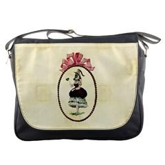 Female Eye Messenger Bag