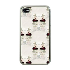Female Eye Apple iPhone 4 Case (Clear)
