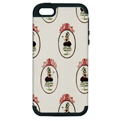 Female Eye Apple iPhone 5 Hardshell Case (PC+Silicone)
