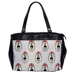 Female Eye Oversize Office Handbag (One Side)