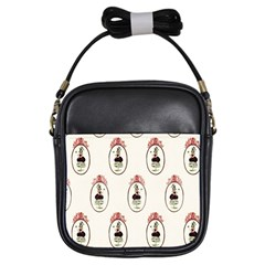 Female Eye Girl s Sling Bag