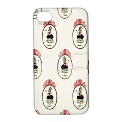 Female Eye Apple iPhone 4/4S Hardshell Case with Stand