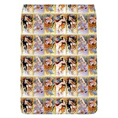 Four Seasons By Alphonse Mucha 1895 Removable Flap Cover (Large)