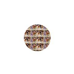Four Seasons By Alphonse Mucha 1895 1  Mini Button Magnet