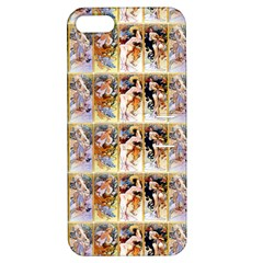 Four Seasons By Alphonse Mucha 1895 Apple iPhone 5 Hardshell Case with Stand