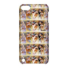 Four Seasons By Alphonse Mucha 1895 Apple iPod Touch 5 Hardshell Case with Stand