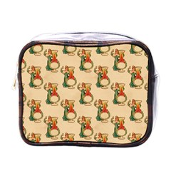 Happy New Year Mini Travel Toiletry Bag (One Side)
