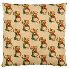 Happy New Year Large Cushion Case (Two Sides)