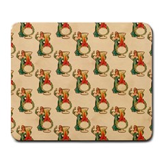 Happy New Year Large Mouse Pad (Rectangle)