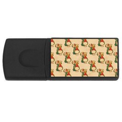 Happy New Year 1GB USB Flash Drive (Rectangle)
