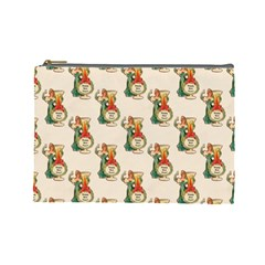 Happy New Year Cosmetic Bag (Large)