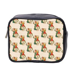 Happy New Year Mini Travel Toiletry Bag (Two Sides)