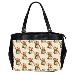 Happy New Year Oversize Office Handbag (Two Sides)