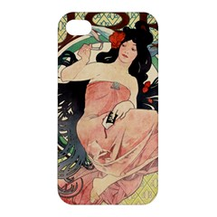 Job Advertisement By Alfons Mucha 1898  Apple iPhone 4/4S Hardshell Case