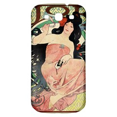 Job Advertisement By Alfons Mucha 1898  Samsung Galaxy S3 S III Classic Hardshell Back Case