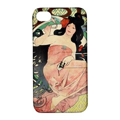Job Advertisement By Alfons Mucha 1898  Apple iPhone 4/4S Hardshell Case with Stand