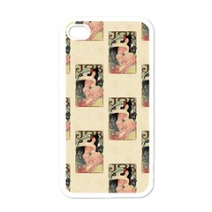 Job Advertisement By Alfons Mucha 1898  Apple iPhone 4 Case (White)