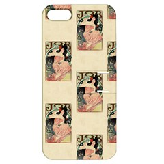 Job Advertisement By Alfons Mucha 1898  Apple iPhone 5 Hardshell Case with Stand