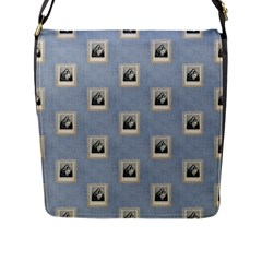 Mother Mary Flap Closure Messenger Bag (Large)