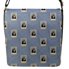 Mother Mary Flap closure messenger bag (Small)