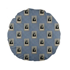 Mother Mary 15  Premium Round Cushion