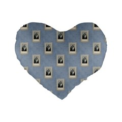 Mother Mary 16  Premium Heart Shape Cushion