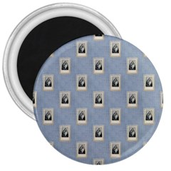 Mother Mary 3  Button Magnet