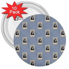 Mother Mary 3  Button (10 pack)