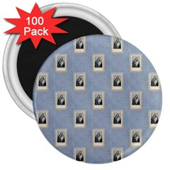 Mother Mary 3  Button Magnet (100 pack)