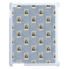 Mother Mary Apple iPad 2 Case (White)