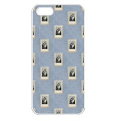 Mother Mary Apple iPhone 5 Seamless Case (White)