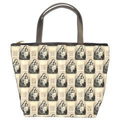 Mother Mary Bucket Bag