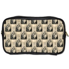 Mother Mary Travel Toiletry Bag (Two Sides)