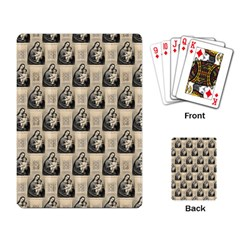 Mother Mary Playing Cards Single Design
