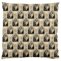 Mother Mary Large Cushion Case (Two Sides)
