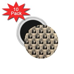 Mother Mary 1.75  Button Magnet (10 pack)