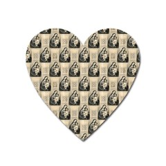 Mother Mary Magnet (Heart)