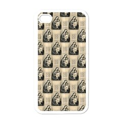 Mother Mary Apple iPhone 4 Case (White)