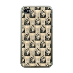 Mother Mary Apple iPhone 4 Case (Clear)