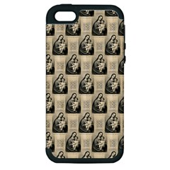 Mother Mary Apple iPhone 5 Hardshell Case (PC+Silicone)