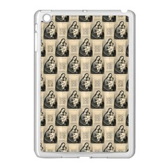 Mother Mary Apple iPad Mini Case (White)