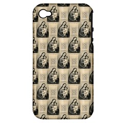 Mother Mary Apple iPhone 4/4S Hardshell Case (PC+Silicone)