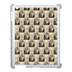 Mother Mary Apple iPad 3/4 Case (White)