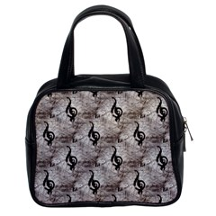 Music Classic Handbag (Two Sides)